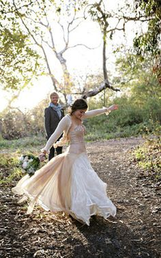 Get wedding ideas from real weddings! Search by season, budget, theme, and more! Once Wed is your source for wedding planning. Shop used wedding dresses now! Rustic Wedding Dresses, Used Wedding Dresses, Woodland Wedding, Autumn Wedding, Whimsical Wedding, Wedding Looks, Dream Wedding, Winter Wedding Inspiration, Groom Style