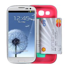 1822256abbc Hybrid Silicone Phone Case Hard Back Cover for Samsung Galaxy S3 S4 S5 Note  5 7 | eBay