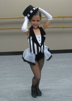 "jazz dance competition costume | Gianna's tap costume for ""Hooray for Hollywood""."