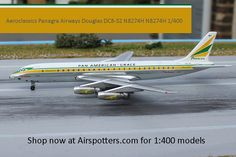 Aeroclassics Panagra Airways Douglas DC8-32 N8274H N8274H 1/400 now in stock at Airspotters http://Airspotters.com