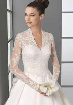 Looks a lot like like the Royal Wedding Gown: this is what I want, just like my aunt and great grandmother's style