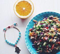 Hyvän olon kvinoasalaatti