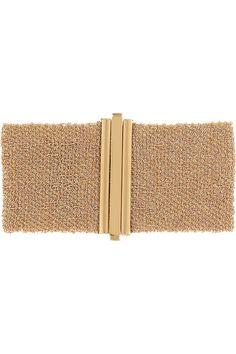Carolina Bucci|Woven 18-karat rose gold cuff|NET-A-PORTER.COM