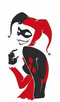 Harley Quinn derretido arte crayon por CrayonGogh en Etsy