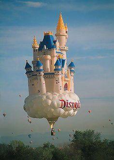 disney hot air balloons | Disneyland Hot Air Balloon | Disney Geek Disney Dream, Disney Love, Disney Magic, Walt Disney, Disney Family, Disney Style, Air Ballon, Hot Air Balloon, Koblenz Germany
