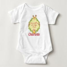 Merry Christmas with baby's name Baby Bodysuit Baby Outfits, Toddler Outfits, Baby Silhouette, Designer Baby, Baby Design, Personalized Baby Clothes, Personalized Gifts, Personalised Baby, Korean Babies