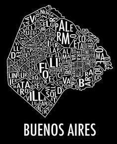 Mapas porteños.- Buenos Aires, Argentina