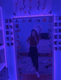 tiktok bedroom vsco led neon adult aesthetic inspo
