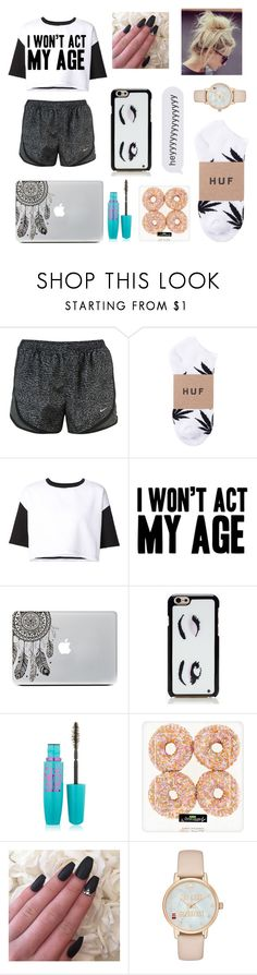 """""""• I Won't Act My Age"""" by summertastic101 ❤ liked on Polyvore featuring ComeForBreakfast, Kate Spade, Maybelline, women's clothing, women's fashion, women, female, woman, misses and juniors"""