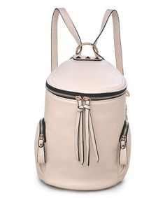 Look what I found on #zulily! Cream Knoxville Convertible Backpack #zulilyfinds. $36.99. Also in peach and black.