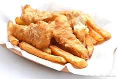 Beer Batter Fish and Chips Recipe | http://shewearsmanyhats.com/beer-batter-fish-and-chips-recipe/