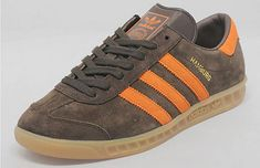 Adidas Hamburg trainers now available in brown suede as a Size? exclusive