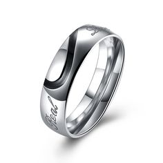 d42457ff9 Fashion 316 Stainless Steel Simple Fine Finger Ring Classic Party Casual  Wedding Bands Fashion Jewelry For Women Free Shipping-in Rings from Jewelry  ...