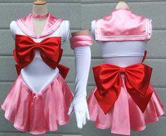 Sailor Moon Rini cosplay dress Sailor Chibi Moon cosplay costume fancy