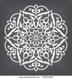 Find Circular Pattern Mandala Round Vector Ornament stock images in HD and millions of other royalty-free stock photos, illustrations and vectors in the Shutterstock collection. Stencil Patterns, Stencil Designs, Pattern Art, Embroidery Patterns, Pattern Design, Mandala Pattern, Stencils, Stencil Painting, Mandala Design