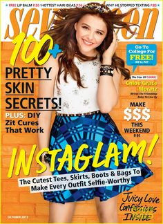 """""""Never choose your friends over your family or a boyfriend or girlfriend over the family."""" Chloe Moretz tells Seventeen magazine in the October 2013 issue."""