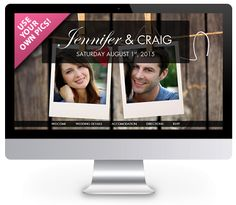 'Rustic' theme wedding website by ourbigdayinfo.com. Create your free trial with this wedding website. Add your own pics! Engagement Celebration, Rustic Theme, Wedding Website, Engagements, Create Yourself, Celebrity, Ads, Free, Engagement