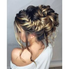 35 Romantic Wedding Hair Ideas You Will Love ❤ liked on Polyvore featuring accessories, hair accessories and long hair accessories