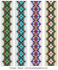 Loom patterns for beadweaving Beading Patterns Free, Seed Bead Patterns, Beaded Jewelry Patterns, Peyote Patterns, Weaving Patterns, Beading Ideas, Beading Projects, Crochet Patterns, Loom Bracelet Patterns