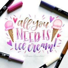 U Scream I Scream We love ICE CREAM