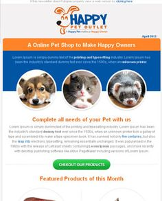 Check out portfolio for email template design & conversion by EmailChopper. Take a look over the best quality standards of work accomplished by professional expert at EmailChopper. Html Email Templates, Email Template Design, Newsletter Templates, Responsive Email, Cool Desktop, Best Email, Make Happy, Happy Animals, Growing Your Business
