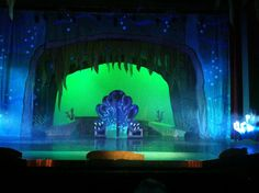 Ursula's lair set design from the little mermaid by Brian Ebbinghaus