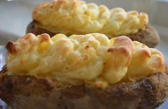 Twice Baked Potatoes via @Jackie Ourman