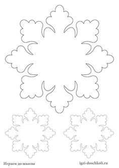 Snowflakes: Templates for Print Chris Decor Ideas . - Snowflakes: Templates for Print Christmas Stencils Decor Ideas, Christmas Templates, Christmas Prin - Christmas Ornament Template, Snowflake Template, Christmas Templates, Felt Christmas Ornaments, Christmas Printables, Christmas Angels, Christmas Stockings, Christmas Diy, Christmas Decorations