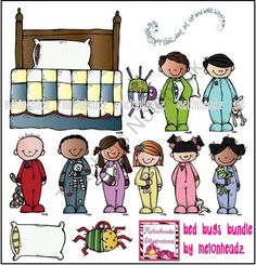 bed bugs bundle  product from Melonheadz-Illustrations on TeachersNotebook.com