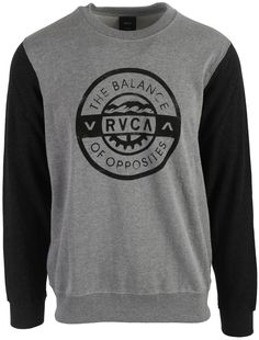 RVCA Railroaded Sweatshirt Mens