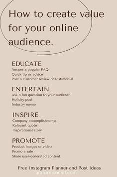 Social Media Branding, Social Media Marketing Business, Marketing Online, Marketing Plan, Inbound Marketing, Marca Personal, Personal Branding, Instagram Marketing Tips, Startup
