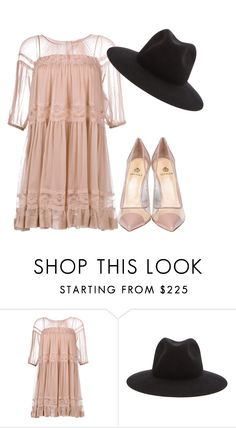 """rose"" by maisa-ic ❤ liked on Polyvore featuring N°21, rag & bone and Semilla"