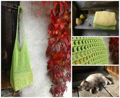 Motánky: Háčkovaná síťovka Shag Rug, Knit Crochet, Interior Decorating, Blanket, Knitting, Diy, Zero Waste, Pots, Crocheting