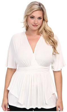 Plus Size Top - Plus Size Kiyonna Afternoon on the Promenade Top