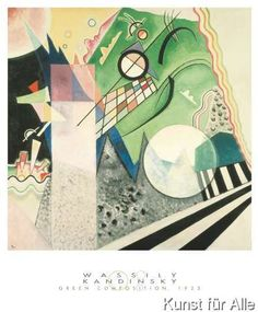 Wassily+Kandinsky+-+Green+Composition,+1923