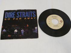 Dire Straits So Far Away If I had You single 45 Record vinyl RARE*^