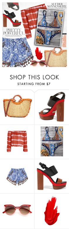 """""""Little ethnic"""" by vanjazivadinovic ❤ liked on Polyvore featuring Sam Edelman, Michael Kors, Maybelline, polyvoreeditorial and zaful"""