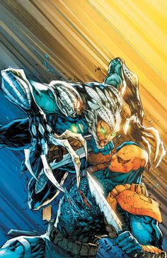 Deathstroke #18 by Eduardo Pansica and Eber Ferreira