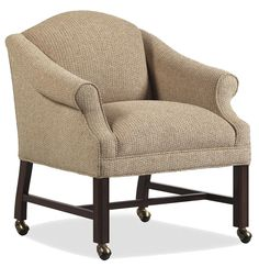 Fine Upholstered Accents Trib Game Chair    by Jessica Charles