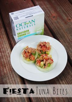 Healthy Lunch Options from Ocean Naturals {Fiesta Tuna Bites Recipe} #OceanNaturals #cbias #shop
