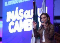 La ley no se negocia: Josefina Vázquez Mota