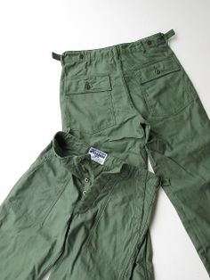 Engineered Garments WORKADAY Fatigue Pant 3