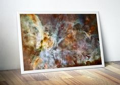Ghost Head Nebula Science Gift  Dorm Room by DareToDreamPrints