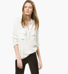 SHIRT WITH POCKETS - View all - Shirts & Blouses - WOMEN - United States - Massimo Dutti