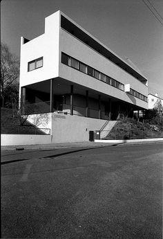 Maisons de la Weissenhof-Siedlung, Stuttgart, Germany, 1927, Le Corbusier