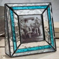 J. Devlin Pic 308-33 Oceania and Ocean Blue Glass Picture Frame