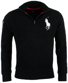 894237a2 Polo Ralph Lauren Mens French Rib Big Pony Logo Pullover - XXL - Red at Amazon  Men's Clothing store: