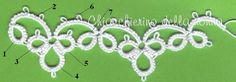 Goudenregen: Good patterns for needle tatting.Needle Tatting Patterns For Beginners - Bing ImagensNot every pattern works out for needle tatting, but Tatting Bracelet, Tatting Jewelry, Tatting Lace, Needle Tatting Patterns, Crochet Stitches, Tatting Tutorial, Blanket Stitch, Lace Making, Bobbin Lace