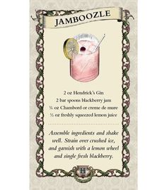 Making friends with gin: Hendricks and blackberry