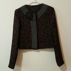 Madewell Cardigan Fun navy cardigan with circle balls all over for ...